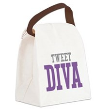 Tweet DIVA Canvas Lunch Bag