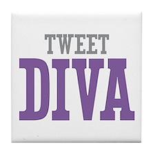 Tweet DIVA Tile Coaster
