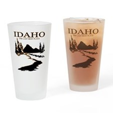 Idaho the Last best place Drinking Glass