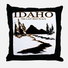 Idaho the Last best place Throw Pillow