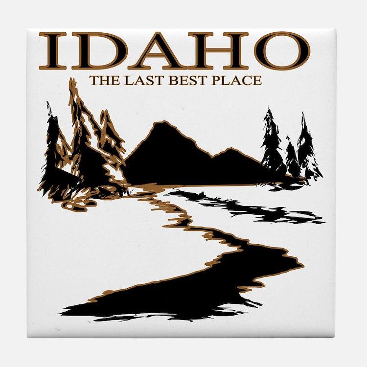 Idaho the Last best place Tile Coaster