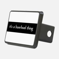 boerboelthingblack Hitch Cover