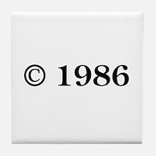 Copyright 1986 Tile Coaster