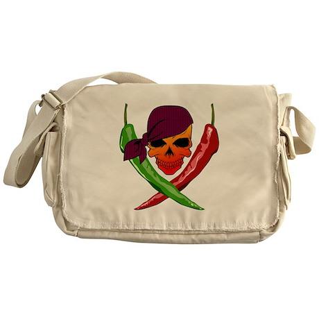 Chili Pirate-blk Messenger Bag