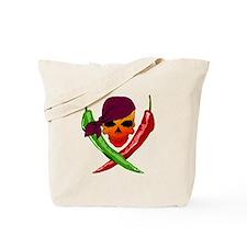 Chili Pirate-blk Tote Bag