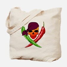 Chili Pirate-blk Tote Bag