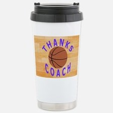Thank You Basketball Coach Gift Travel Mug