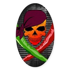 Chili Pirate-poster Decal