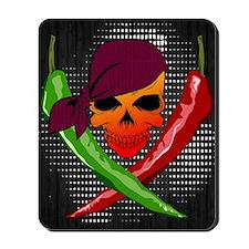 Chili Pirate-poster Mousepad