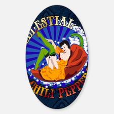 Celestial-poster Sticker (Oval)