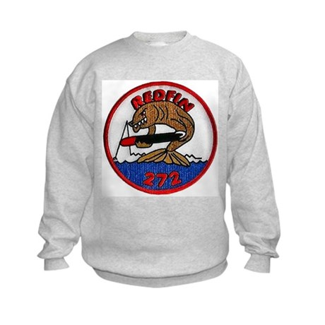 USS REDFIN Kids Sweatshirt