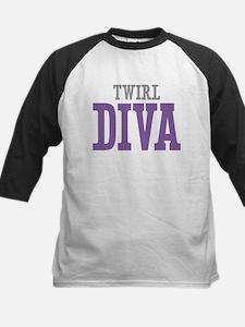 Twirl DIVA Kids Baseball Jersey