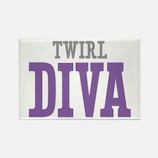 Twirl DIVA Rectangle Magnet