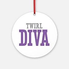 Twirl DIVA Ornament (Round)