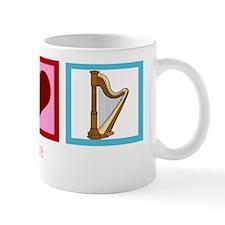 peaceloveharpwh Mug