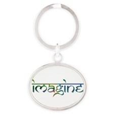 Imagine Rainbow Keychains