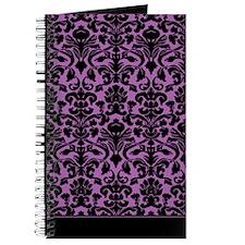 Damask Pattern Purple Journal