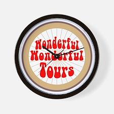 wonderful-tours Wall Clock