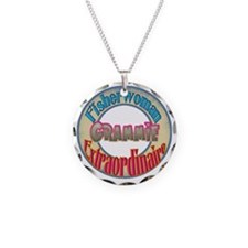 FISHERWOMAN GRAMMIE Necklace Circle Charm