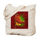 Chili pepper design Regular Canvas Tote Bag