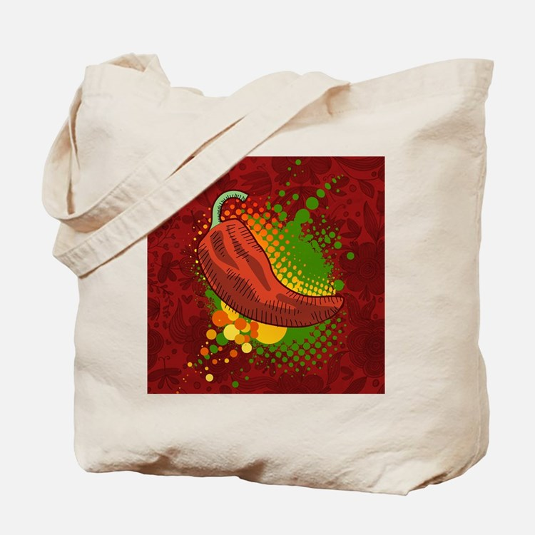 Chili Season-pillow Tote Bag