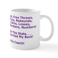 Thank You Basketball Coach Greeting Car Mug