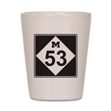 M53 Shot Glass