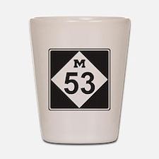 M53 Shot Glass
