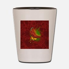 Chili Season-smallbutton Shot Glass