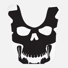Flip Flop Skull Bib