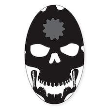 Flip Flop Skull Decal