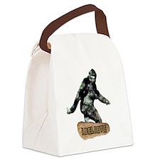 Bigfoot_I_Believe Canvas Lunch Bag