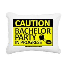 bachelorparty Rectangular Canvas Pillow