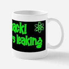 funny nuclear radiation reactor sticker Mug