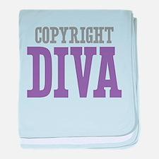 Copyright DIVA baby blanket