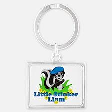 liam-b-stinker Landscape Keychain