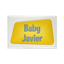 Baby Javier Rectangle Magnet
