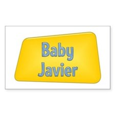 Baby Javier Rectangle Decal