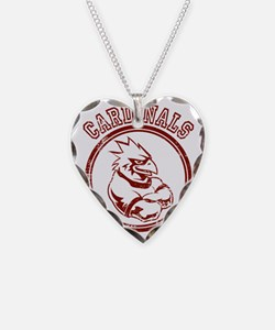 Cardinals Team Mascot Graphic Necklace