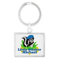 michael-b-stinker Landscape Keychain