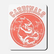 Cardinals Sports Team Mascot Graphic Mousepad