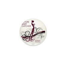 mcmaster midwifery no date maroons Mini Button