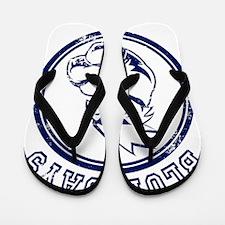 BlueJays Team Mascot Graphic Flip Flops