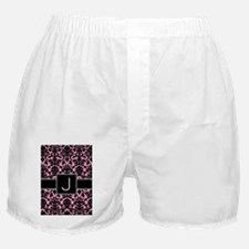 j_monogram_iphone_damask Boxer Shorts