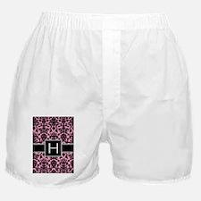 h_monogram_iphone_damask Boxer Shorts