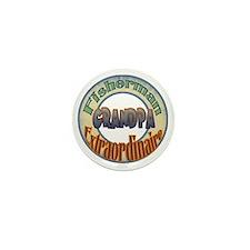 FISHERMAN GRANDPA Mini Button