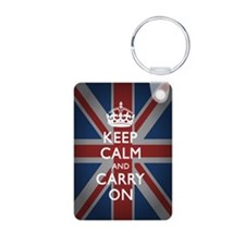 Keep Calm and Carry on (wi Keychains