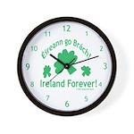 Ireland Forever Wall Clock