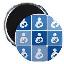 Breastfeeding Symbol Multi Magnet