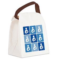 Breastfeeding Symbol Multi Canvas Lunch Bag